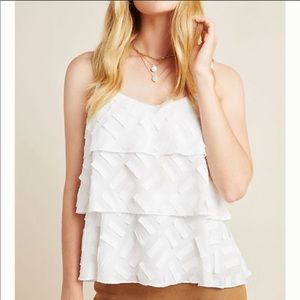 {Anthro} Amadi Ameline tiered cami top